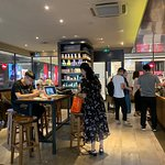 Pleasant place to order a delicious drink and dessert. The staff is very pleasant and responsive. The place is modern and clean. Various merchandise such as drink cups, tea packages and other trinkets are available for purchase.
