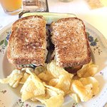 Turkey Club lunch special
