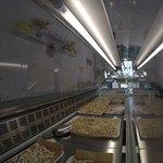 Ampia varietà di formati di pasta