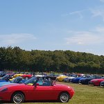 UK Barchetta Club UK Tour 23 August 2019 - 65 cars on tour.