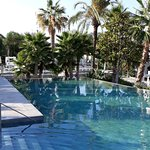 The pool areas are beautifully landscaped and look great. One of the few aspects of the hotel that lives up to the Internet descriptions.