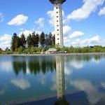 Spiegel-Bild vom Hochheider Turm...