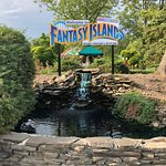 Town Square section of Fantasy Island.