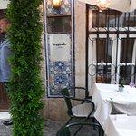 Esterno del ristorante.