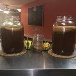 Fresh brewed Kombucha