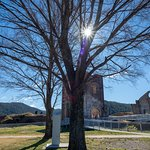 The Lithgow Blast Furnace scenery makes a peaceful