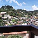 La mejor vista panorámica de Real del Monte desde tu Habitación.