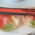 Najmniejsze porcje wasabi :)