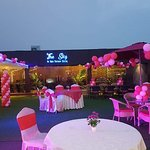Hotel Golden Fortune offers you the very authentic restaurant name The Sky - An Open Terrace Dining. Pamper your taste buds with authentic Indian food at this rooftop restaurant.
