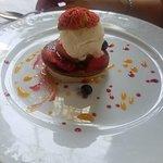 Dessert Flamboyant.