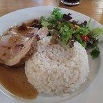 Bravčové karé na kuriatkach s ryžou