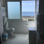 Toilet with the views on Atlantic ocean.