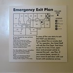 The Oliver Hotel, 407 Union Ave, Knoxville, TN - Suite 202 - Emergency Exit Plan