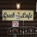 NJ - MOUNT LAUREL – THE CREEK CAFÉ – SIGN OUT FRONT