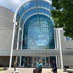 Museum entrance is grande!