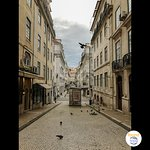 The walk up from downtown Lisbon to Feels Like Home Chiado (foundtrips pic)