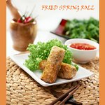 Fried Spring Roll Traditional Vietnamese Food