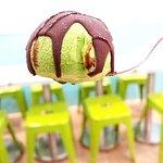 粒粒果甜品照片