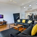 Large open plan living area