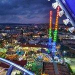 Parko Paliatso Luna Park (вид с колеса обозрения)
