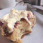 Amazing fruit scone!