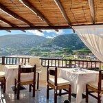 Breakfast terrace!