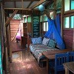 Silverback cabin, living area
