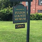 Fulton County Museum -  sign in front