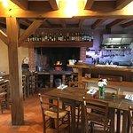 La salle du restaurant Le Chemin, Laubaudie