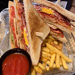 club sandwich - also seriously yummy - almost too much to eat - good to share!