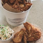Let us cater your next event! Crispy fried chicken!