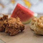 Fried Chicken, Biscuits and Watermelon!