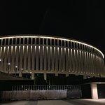 Парк и стадион как будто из будущего прилетели