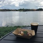 Irish sausages, Guinness beer and World Showcase Lagoon