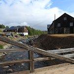 copper mine area