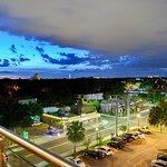 Rooftop Bar - evening view.