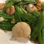 Shrimp and Scallops in Wine Sauce - do not order!