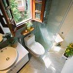 A nice bathroom in the Garden view room