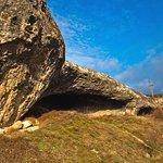 Сюйреньские гроты. Место стоянки первобытного человека эпохи верхнего палеолита.