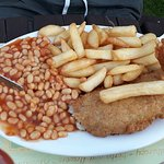 Good value, good size fish and chips