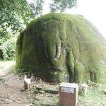 像を模った巨石