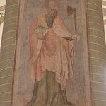 Soest, St. Patrokli, wall painting Saint Matthew
