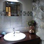 Garden Trail Cottage, second bathroom.