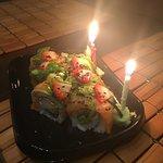 Prezent urodzinowy od Edo Sushi (mój chłopak i ja obchodzimy urodziny w ten sam dzień)