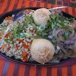Bayangol (Mongolian dish with lamb)