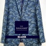 A Camouflage Blazer. A unique blazer which is even light weight also. Hand Finishes are there on our every ready to wear blazers.