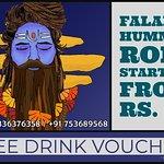 Free drinks*