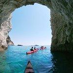 Amazing cave at Marathonisi