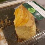 a rather rubbish mango cheesecake