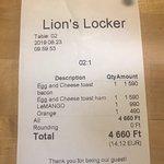 Fotografie: Lion's Locker and Breakfast